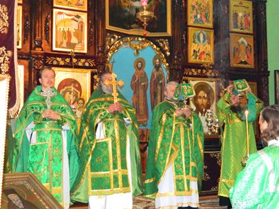 Празднование перенесения мощей святого благоверного князя Александра Невского